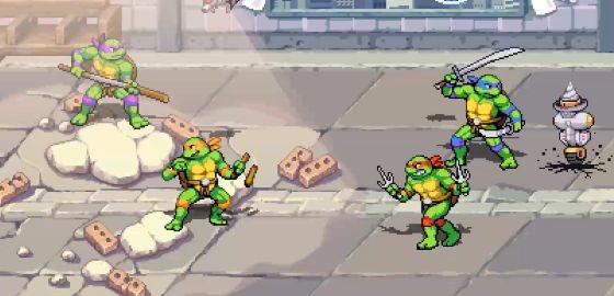 닌자 거북이: 슈레더의 복수, 플레이 영상