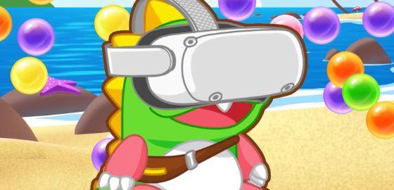 1인칭으로 돌아왔다, '퍼즐보블 VR' 공개