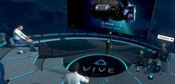 VR로 비즈니스를 혁신적으로, HTC VIVE