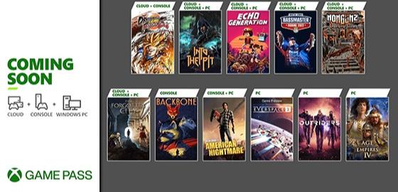 Xbox 게임패스, '드볼파'부터 에오엠4까지